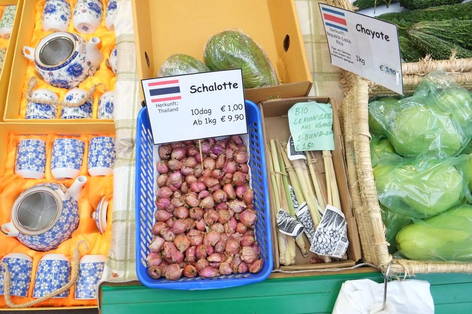 พืชผักจากไทย แนชมาร์ก Beaconboy Travel