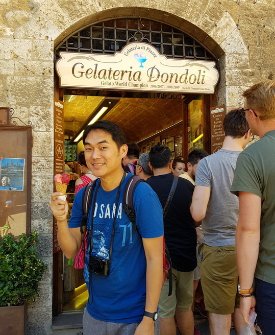 Jobby at Dondoli San Gimignano