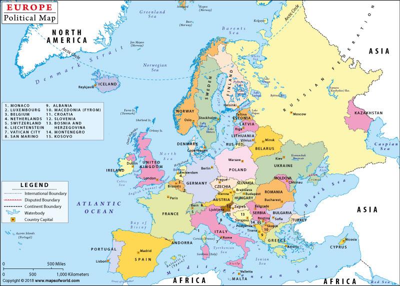 Map for วีซ่าเชงเก้น (Schengen visa)